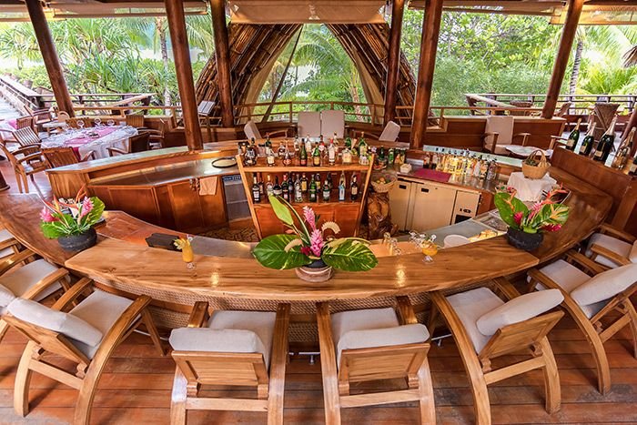 Le Taha''a Island Resort Bar